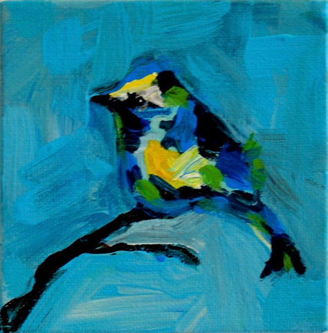 Small Blue Bird - Susie Elder