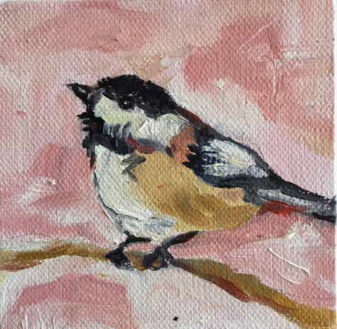 Summer Chickadee - Susie Elder