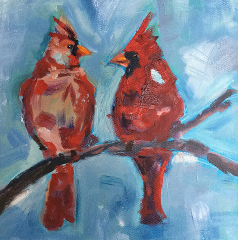 Two Cardinals - Susie Elder