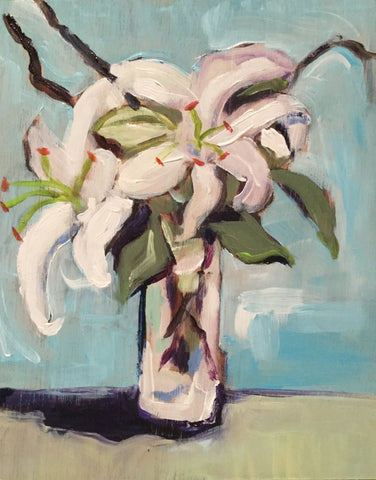 White Lillies - Susie Elder