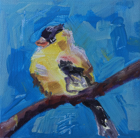 Yellow Chicadee - Susie Elder