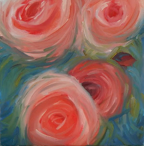 Swirling Roses - Beth Williams