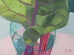 Swiss Chard in a Coke Glass - Susan Trott