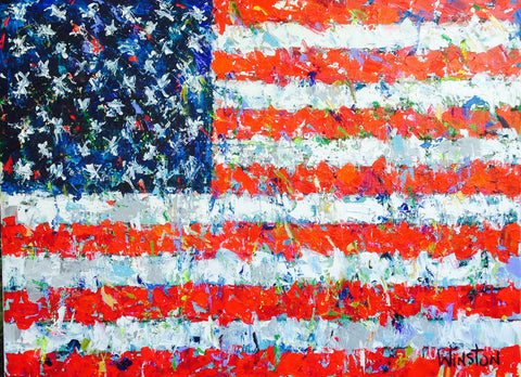 USA Flag - Winston Wiant
