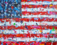 USA Flag- Winston Wiant