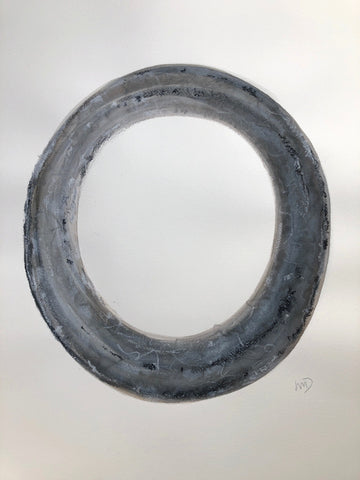 Gray Circle II- Wendy Doak