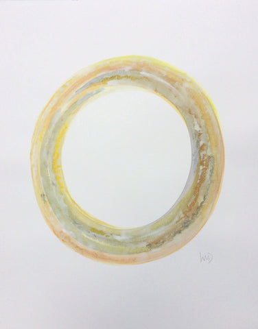 Yellow Circle II- Wendy Doak