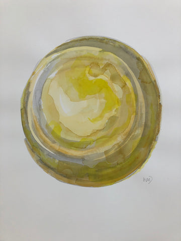 Yellow Sphere II- Wendy Doak