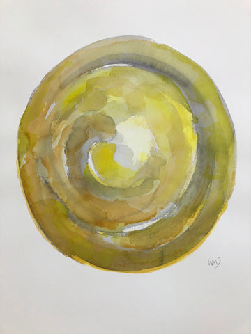 Yellow Sphere I- Wendy Doak