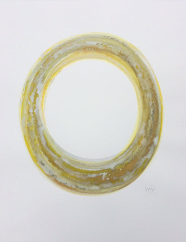Yellow Circle I- Wendy Doak