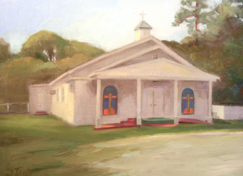 Wadmalaw Church - Susan Trott