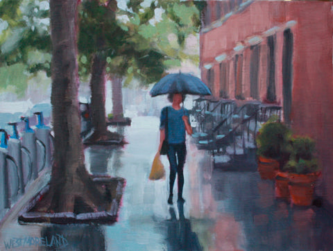 Walking Home From Market- Susan Westmoreland