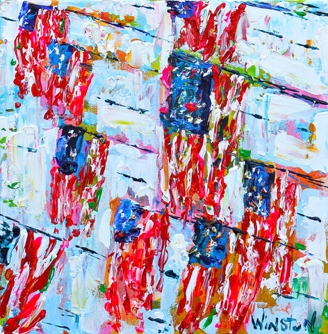 Waves of Flags - Winston Wiant