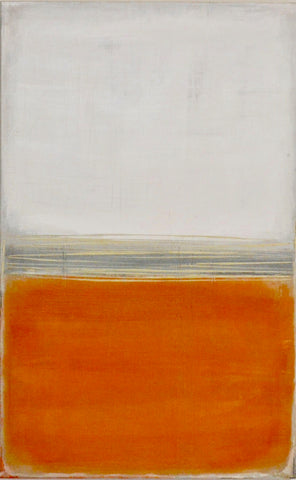 Orange- Inspired by Rothko- Whitney St. Pierre