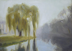 Willow, Water & Fog- Lisa Gleim