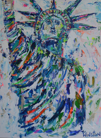 Statue of Liberty- Winston Wiant
