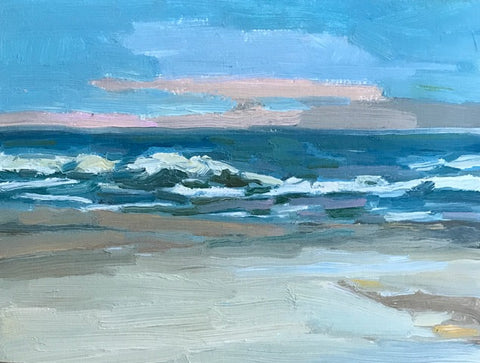 Winter Beach- Lynne Hamontree