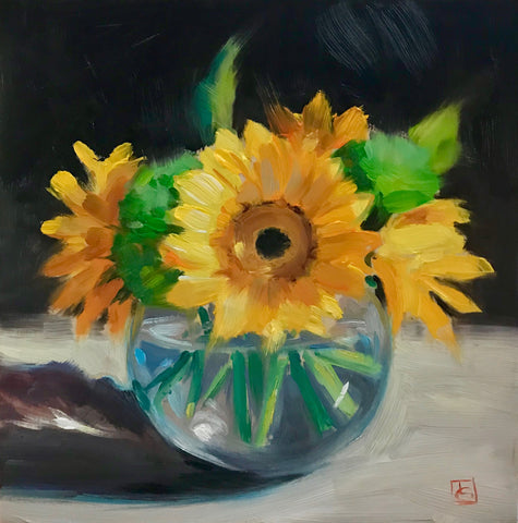 Yellow Gerberas- Lisa Gleim
