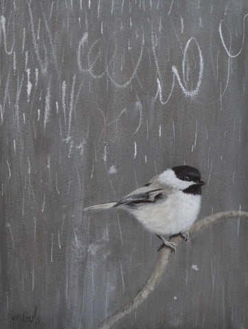 You Want to Play? (Carolina Chickadee) - Jane Ingols
