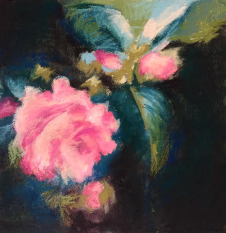 Winter Camellias III - Beth Williams