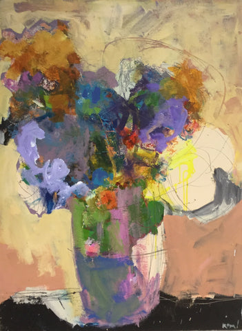 Abstract Flowers- Page Morris