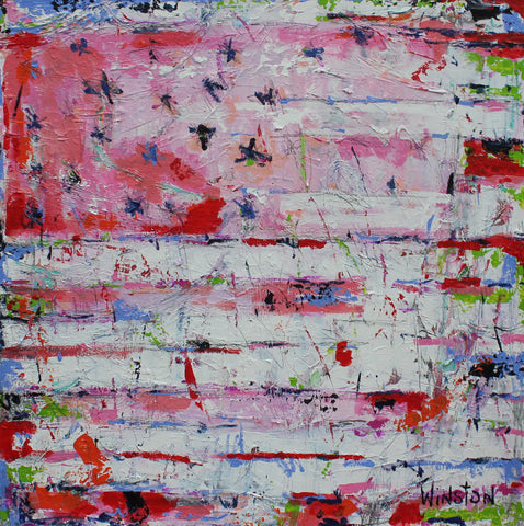 Abstract Flag- Winston Wiant