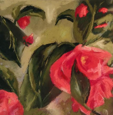 Winter Camellias I - Beth Williams