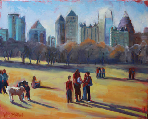 Afternoon in the Park - Susan Westmoreland