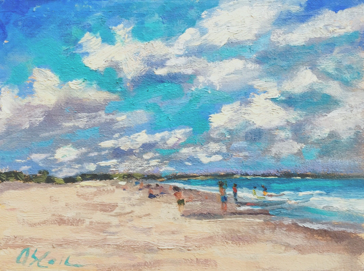 Beach Clouds