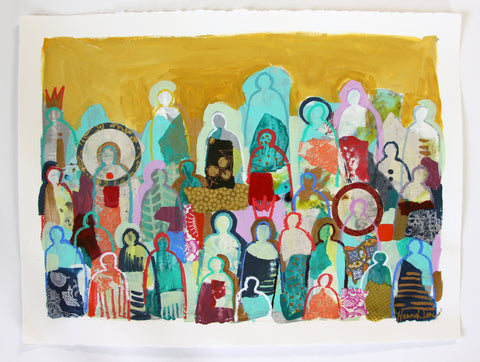 Crowd On Paper 6 - Hannah Lane