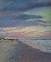 Dawn Beach Walk- Lisa Gleim