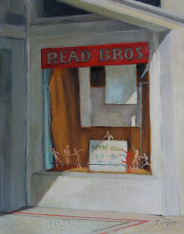 Read Bros. Window- Susan Trott
