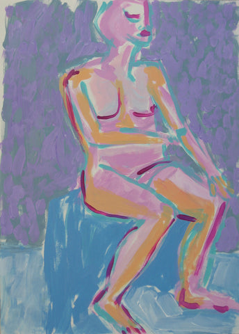 Seated Woman - Linda Elksnin