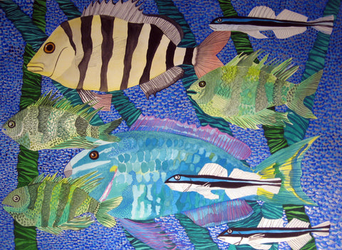 Sheepshead, Parrot Fish, Etc. - Linda Elksnin