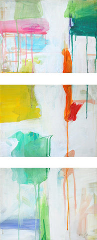 Triptych, Summer Drips- Emily Brown