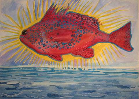 Super Grouper- Linda Elksnin