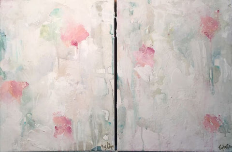 Sweet Nothing Diptych - Tyler Colgan