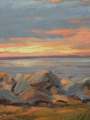 Sunset at the Rocks- Susie Callahan