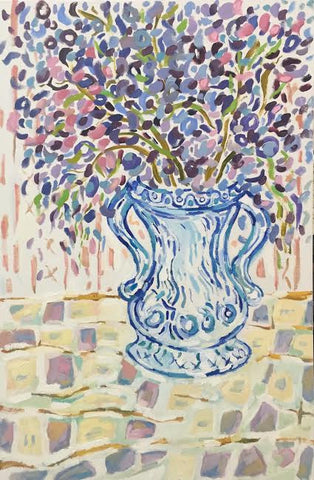 Blue Vase - Lynne Hamontree