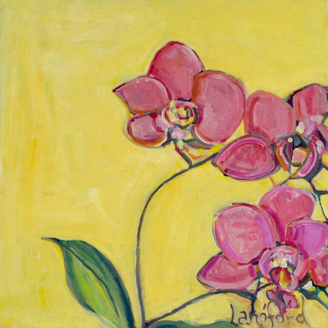Cherry Orchids - Langford Barksdale