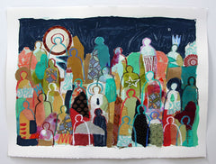 Crowd On Paper 11 - Hannah Lane