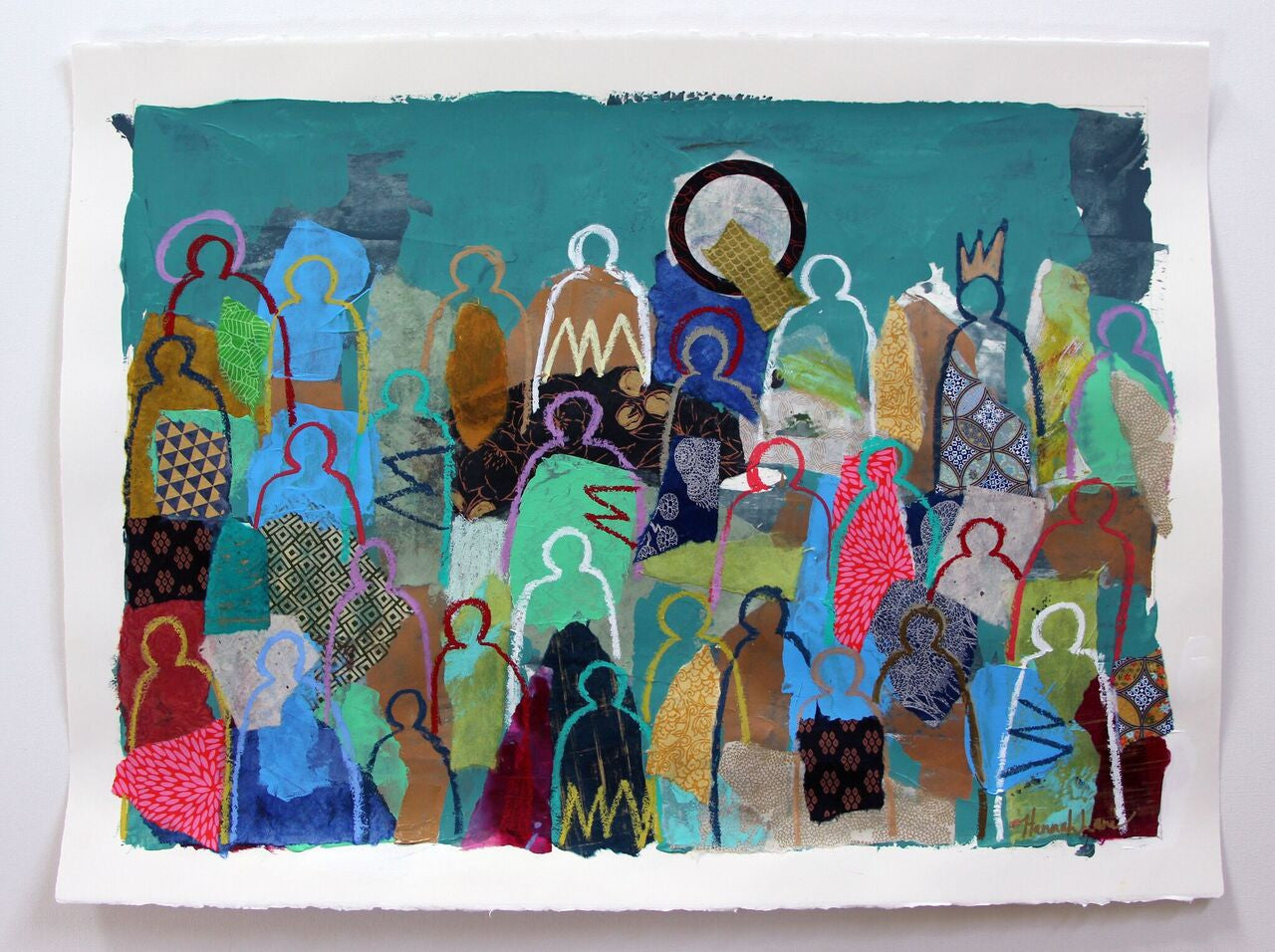 Crowd On Paper 13