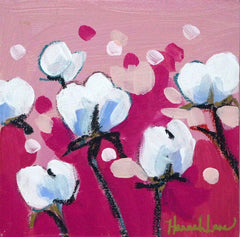 Pretty Pink Cotton Blossoms - Hannah Lane