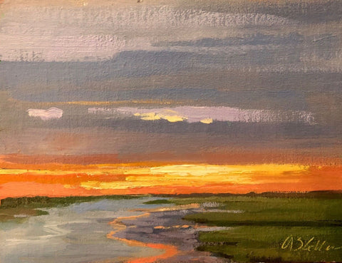 Sunkissed Marsh - Susie Callahan