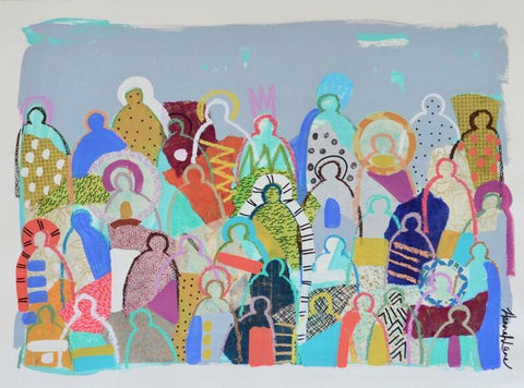 Crowd on Paper 13- Hannah Lane