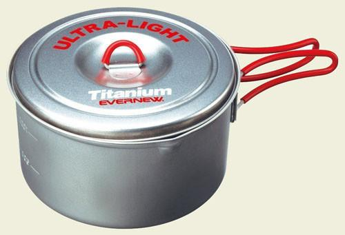 Evernew Titanium Ultralight Pot 3(1.3L) ECA253R ECA253
