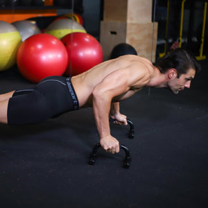 Push Up Bar Building Chest Muscles