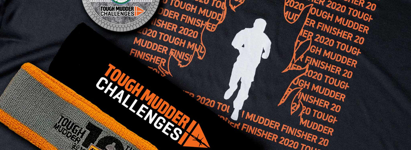Tough Mudder Challenges SWAG