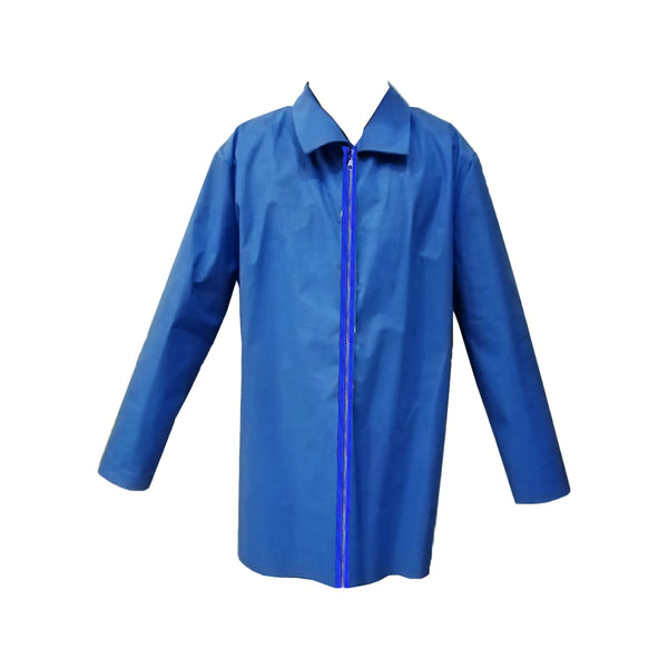 Lab Coat With Zipper