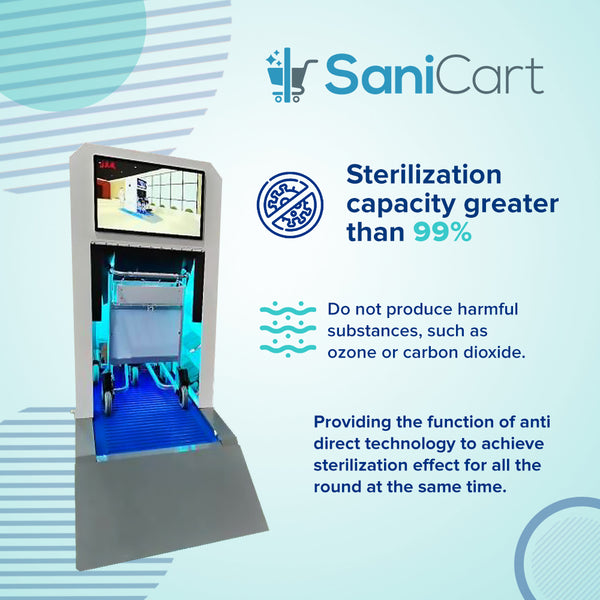 SaniCart Disinfection Station